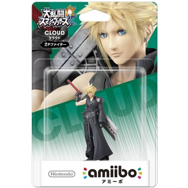 amiibo Super Smash Bros. Series Figure: 2P Fighter (Cloud)