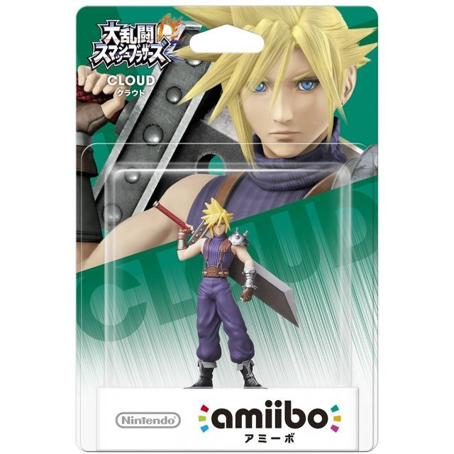amiibo Super Smash Bros. Series Figure (Cloud)