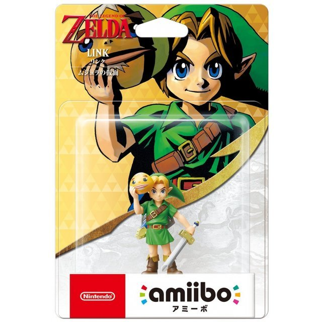 amiibo The Legend of Zelda Series Figure (Link) [ Majora's Mask ]