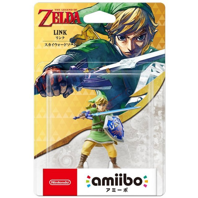 amiibo The Legend of Zelda Series Figure (Link) [Skyward Sword]