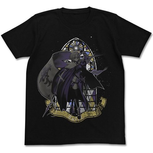 Fate/Grand Order Joan Of Arc T-shirt Black (L Size)