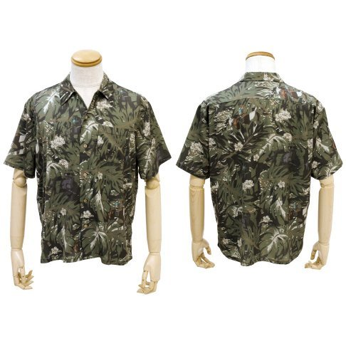 Mobile Suit Gundam The 08th MS Team - 08MS Aloha Shirt (XL Size)