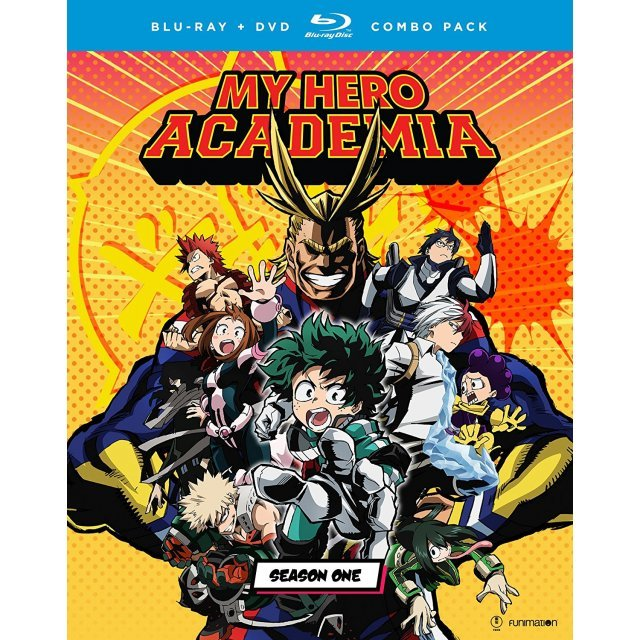 My Hero Academia: Season One [Blu-ray+DVD]