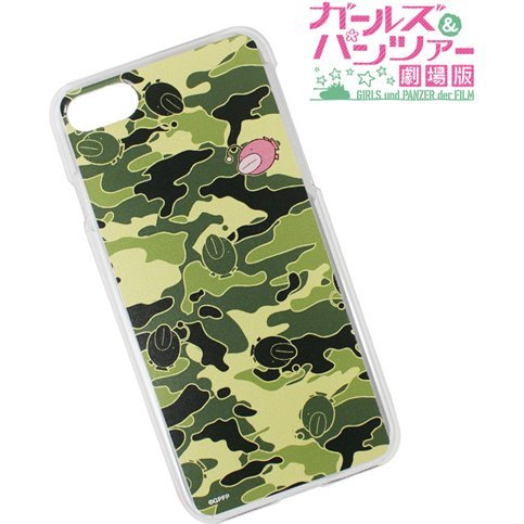 Girls And Panzer Der Film - Ankou Camouflage iPhone7Plus Case