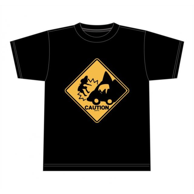 Kemono Friends Abunaiyo-! T-shirt Black (M Size)