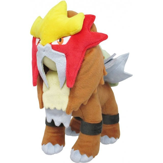 Pocket Monsters All Star Collection Plush: Entei (S)