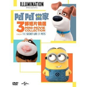 Secret Life of Pets - 3 Mini-Movie Collection