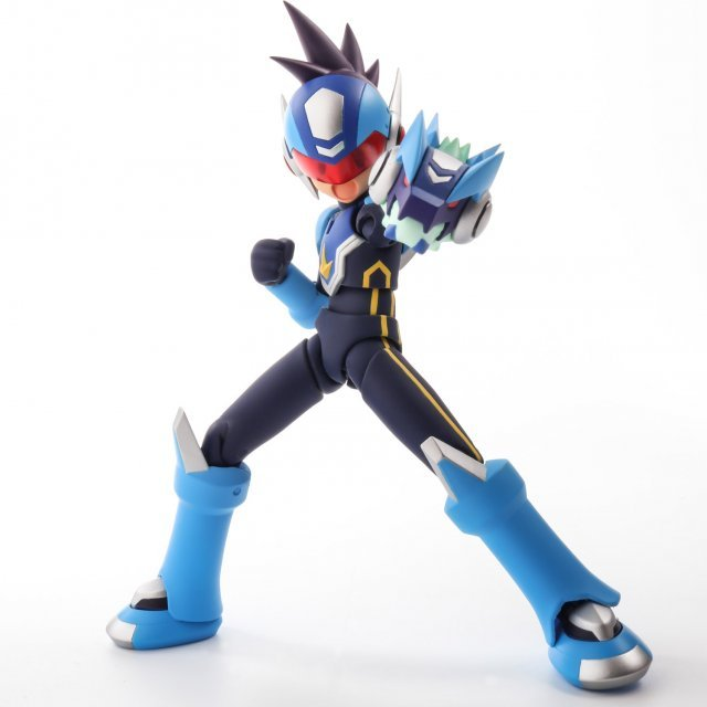 4inch-nel Mega Man Star Force: Shooting Star Mega Man