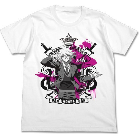 Danganronpa 3: The End Of Kibougamine Gakuen - Nagito Komaeda T-shirt White (L Size)