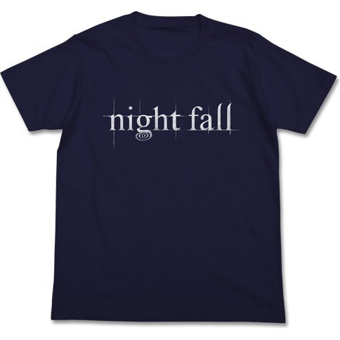 Little Witch Academia - Night Fall T-shirt Navy (M Size)