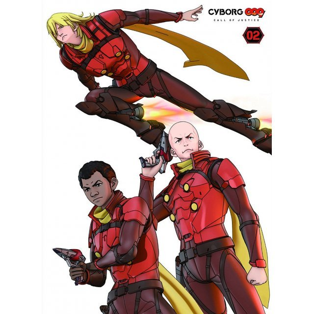 Cyborg009 Call Of Justice Vol.2