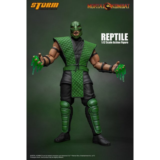 Mortal Kombat 1/12 Scale Pre-Painted Action Figure: Reptile