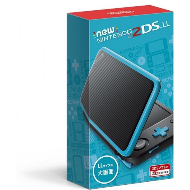 New Nintendo 2DS LL (Black x Turquoise)