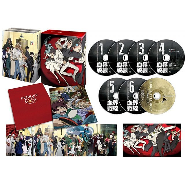 Blood Blockade Battlefront Blu-ray Box
