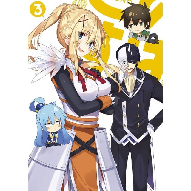 KonoSuba 2 Vol.3 [Limited Edition]