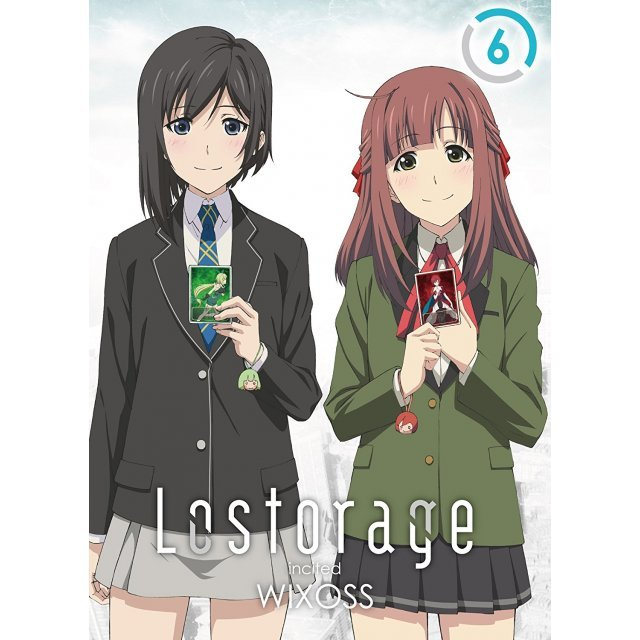 Lostorage Incited Wixoss 6 [DVD+CD Limited Edition]