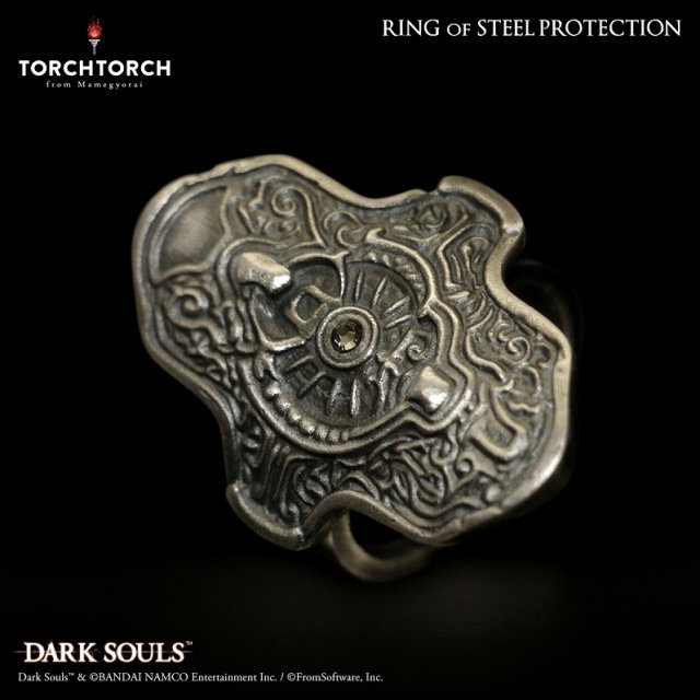 Dark Souls × TORCH TORCH / Ring Collection: Ring Of Steel Protection Men's L / 21