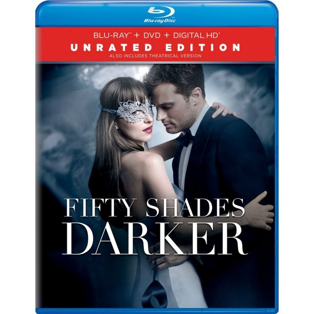 Fifty Shades Darker - Unrated Edition [Blu-ray+DVD+Digital HD]