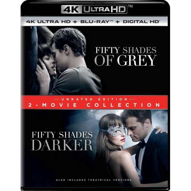 Fifty Shades of Grey / Fifty Shades Darker: 2-Movie Collection (Unrated Edition) [4K Ultra HD Blu-ray]