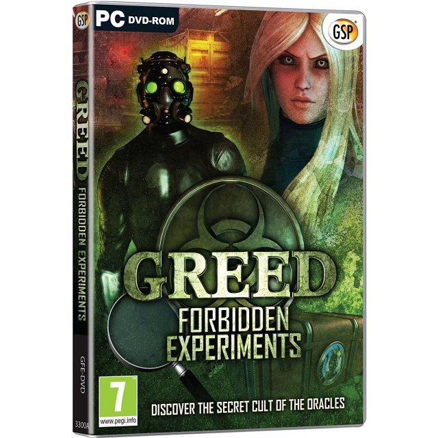 Greed: Forbidden Experiments (DVD-ROM)