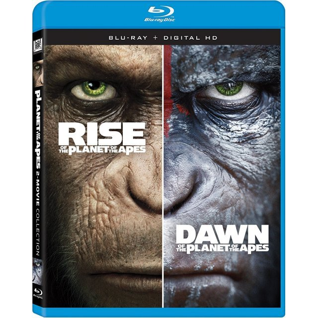 Rise Of The Planet Of The Apes / Dawn Of The Planet Of The Apes [Blu-ray+Digital HD]