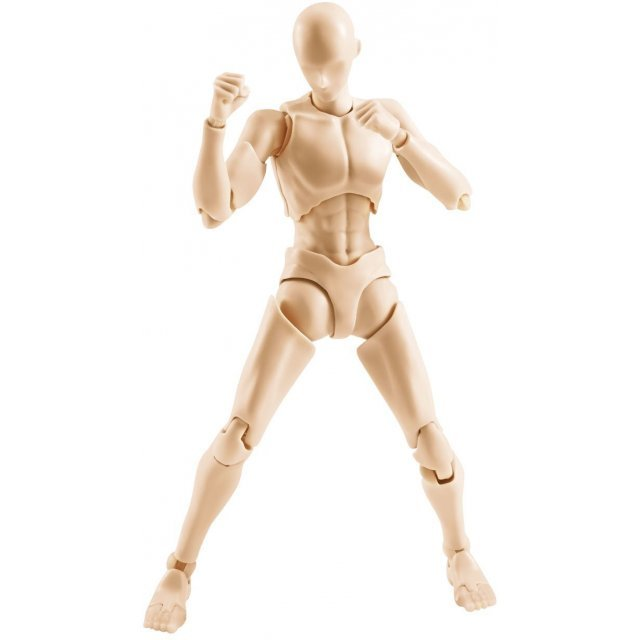 S.H.Figuarts Body-kun Rihito Takarai Edition Pale Orange Color Ver.