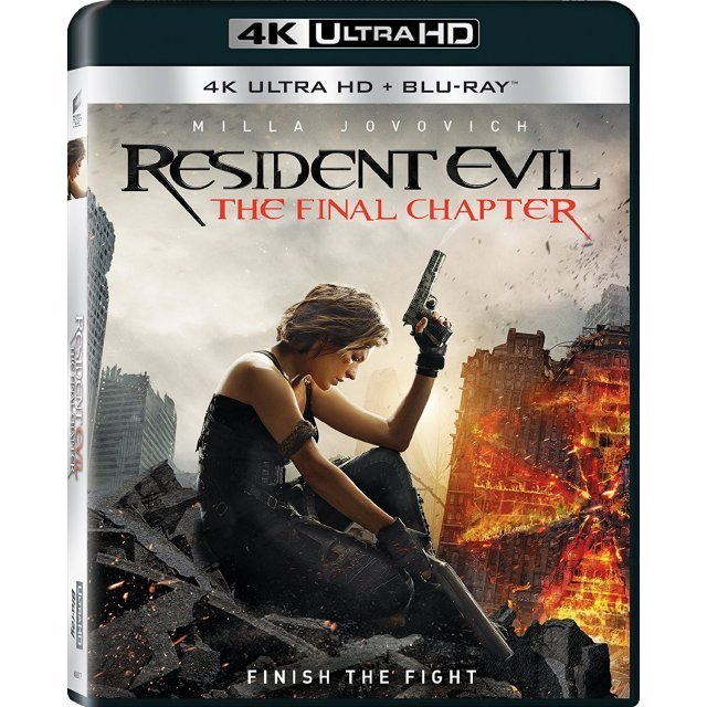 Resident Evil: The Final Chapter [4K Ultra HD Blu-ray]