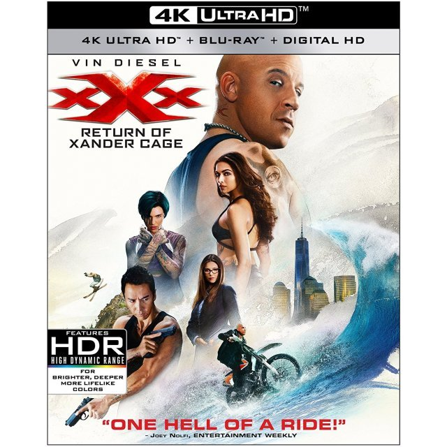 xXx: Return Of Xander Cage [4K Ultra HD Blu-ray]