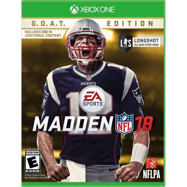 Madden NFL 18 [G.O.A.T. Edition]