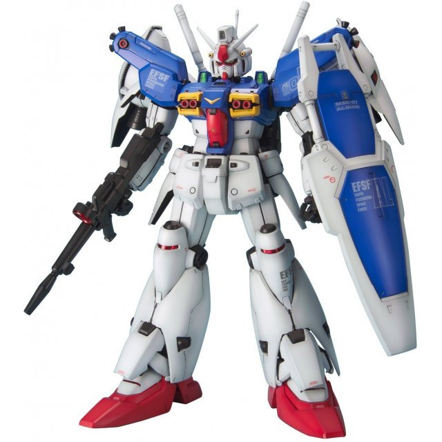 Mobile Suit Gundam 1/60 Scale Model Kit: RX-78 GP01/Fb Gundam GP01 (PG)