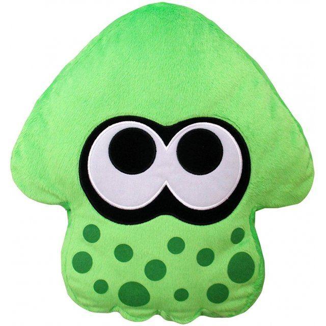 Splatoon 2 Plush: Neon Green Squid Cushion (Re-run)