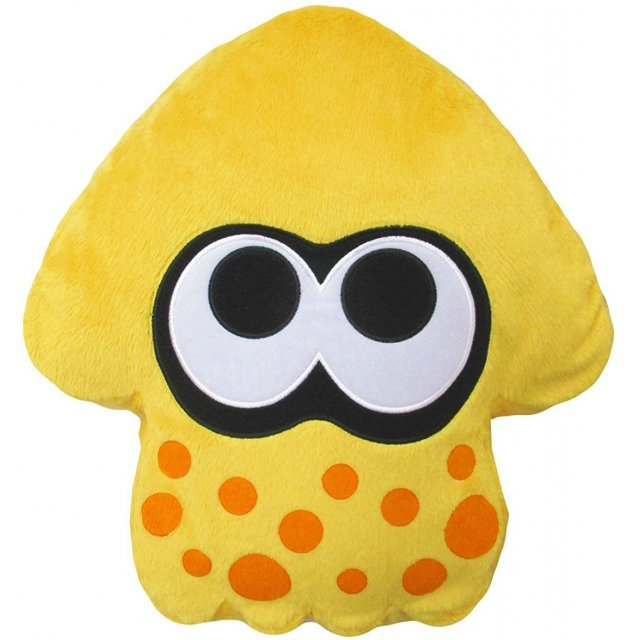 Splatoon 2 Plush: Sun Yellow Squid Cushion