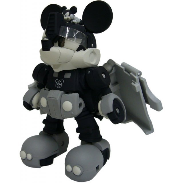 Transformers Disney Label Mickey Mouse Trailer: Monochrome