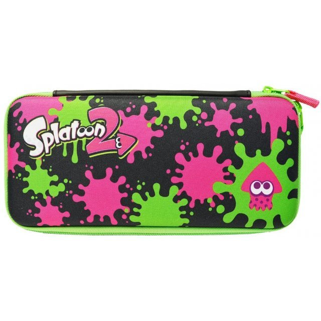 Splatoon 2 Hard Pouch for Nintendo Switch (Ink x Ika)