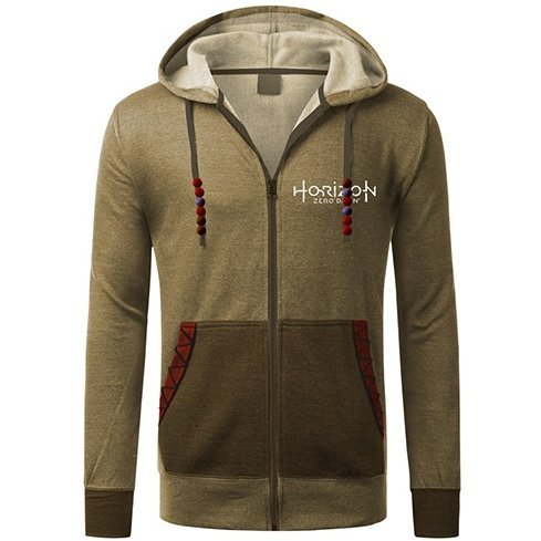 Horizon: Zero Dawn Zippered Hoodie Aloy (L Size)