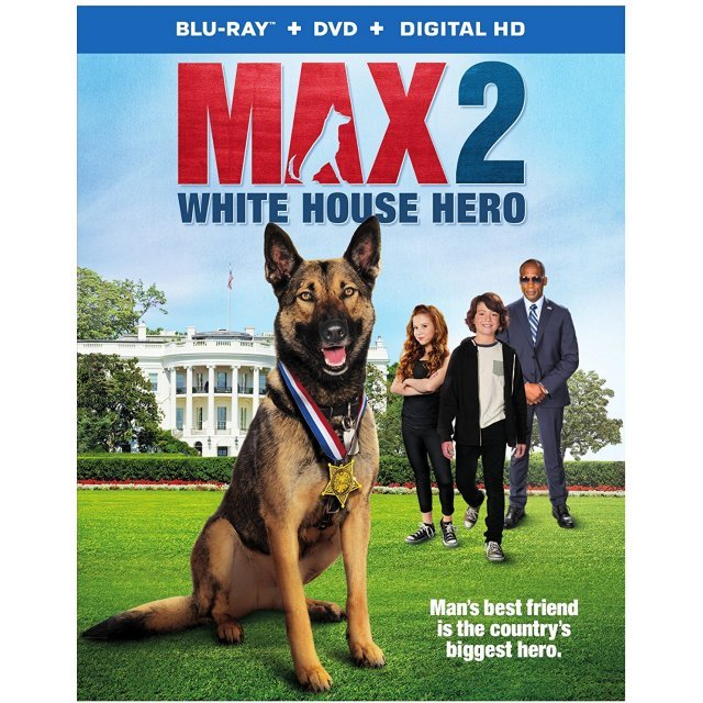 Max 2: White House Hero [Blu-ray+DVD+Digital HD]