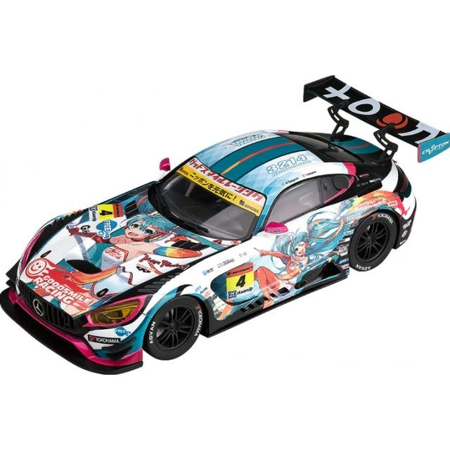Racing Miku 2016 Ver. 1/32 Scale Miniature Car: Good Smile Hatsune Miku AMG 2016 Season Opening Ver.