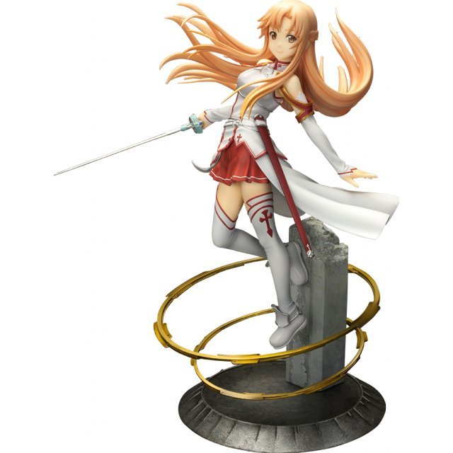 Sword Art Online 1/8 Scale Pre-Painted Figure: Asuna -Aincrad- Renewal Package Ver.