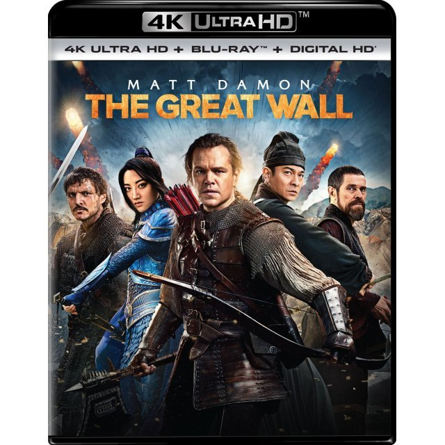 The Great Wall [4K Ultra HD Blu-ray]