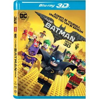 The Lego Batman Movie 3D (2-Disc)