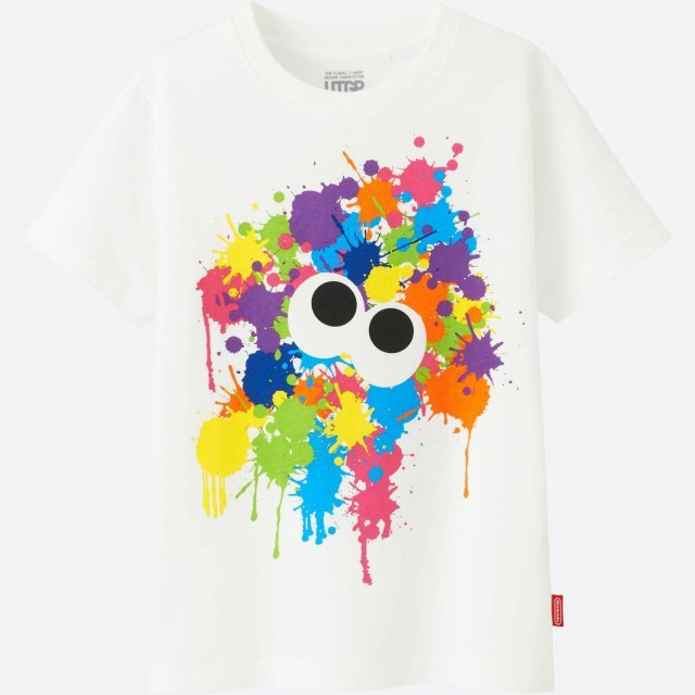 Splatoon Utgp Nintendo Kid's T-shirt (120 Size)