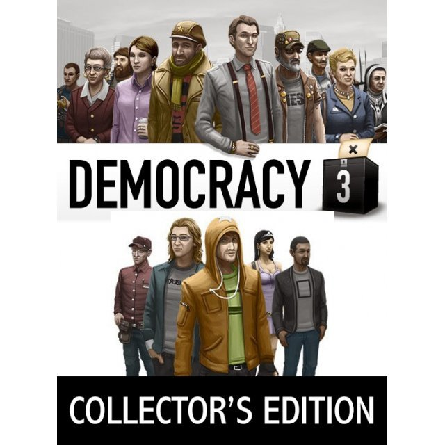 Democracy 3 [Collector's Edition] (Steam)