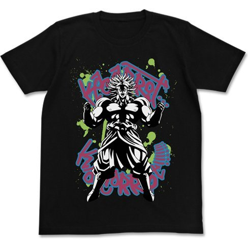 Dragon Ball Z Broly T-shirt Black (L Size)