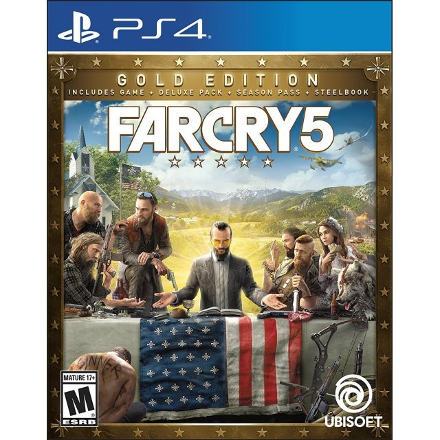 Far Cry 5 [Steelbook Gold Edition]