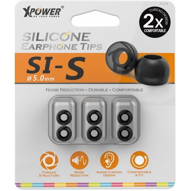 Xpower Silicone Earphone Tips (Small)