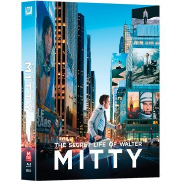 The Secret Life of Walter Mitty (Lenticular Slip Steelbook A)