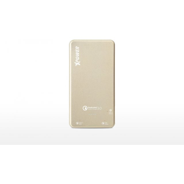 Xpower PB15Q Qualcomm Quick Charge 3.0 Type-C Power Bank 15000mAh (Gold)
