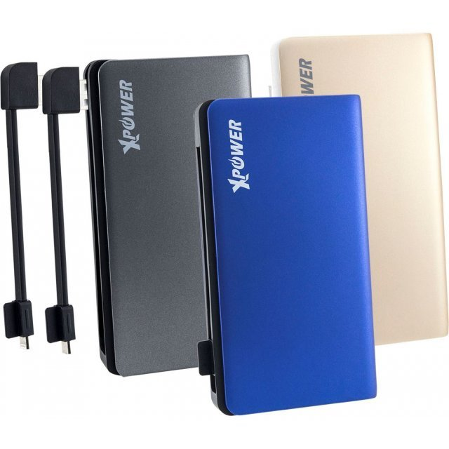 Xpower X8/PB8+ Ultra High Speed Power Bank 8000mAh (Gold)