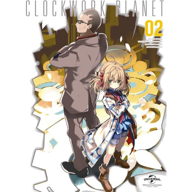 Clockwork Planet Vol.2 [Limited Edition]
