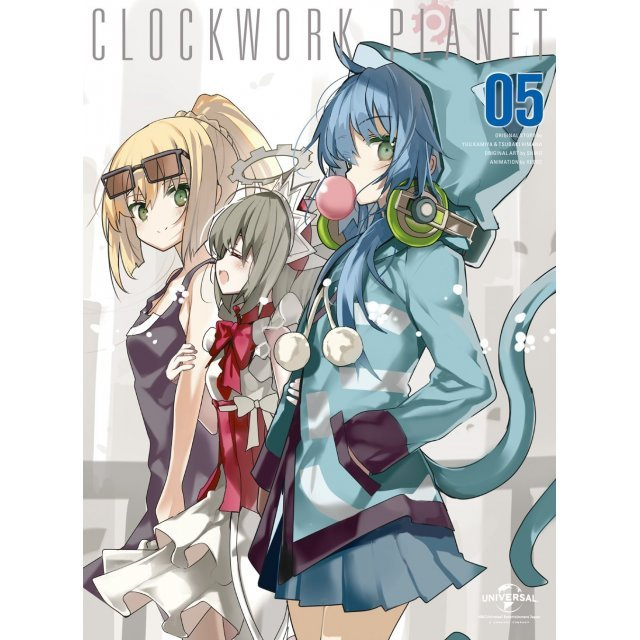 Clockwork Planet Vol.5 [Limited Edition]